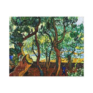 Van Gogh - The Garden of the Asylum Canvas Print