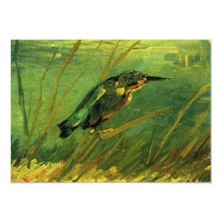 Van Gogh The Kingfisher, Vintage Impressionism Art Card