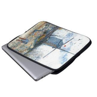 Van Gogh: The Mill of Galette Laptop Sleeve