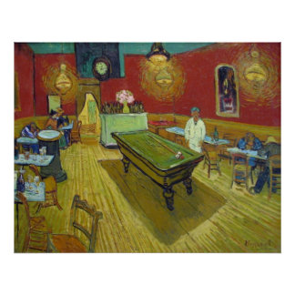 Van Gogh The Night Cafe Poster