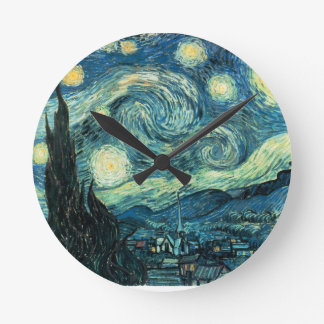 Van Gogh The Starry Night clock