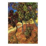Van Gogh Trees in the Garden, Saint Paul Hospital Invites