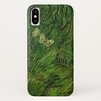 Van Gogh Two White Butterflies, Vintage Fine Art Case-Mate iPhone Case