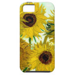Van Gogh: Vase Twelve Sunflowers Vintage Fine Art iPhone 5 Case