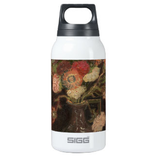 Van Gogh - Vase with Chinese asters and gladioli Insulated Water Bottle