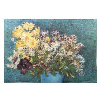 Van Gogh: Vase with Lilac, Marguerites & Anemones Placemat