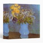 Van Gogh; Vase with Lilacs, Daisies and Anemones Binders