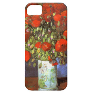 Van Gogh: Vase with Red Poppies iPhone 5 Covers