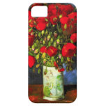 Van Gogh Vase With Red Poppies iPhone Case Case For The iPhone 5