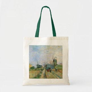 Van Gogh Vegetable Garden in Montmartre, Fine Art Tote Bag