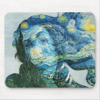 Van Gogh Venus Mouse Pad