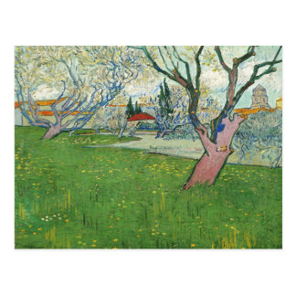 Van Gogh View of Arles, Trees in Blossom (F515) Postcard