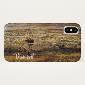 Van Gogh View of Sea at Scheveningen, Fine Art iPhone X Case