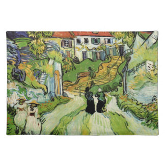 Van Gogh - Village Street and Steps in Auvers Placemat