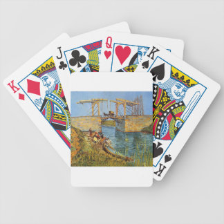 Van Gogh Vincent -The Langlois Bridge Bicycle Playing Cards