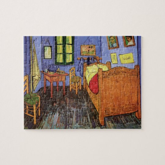 Van Gogh Vincent's Bedroom in Arles, Fine Art Jigsaw Puzzle