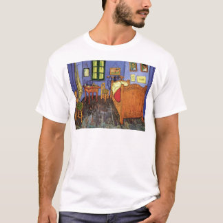 Van Gogh Vincent's Bedroom in Arles, Fine Art T-Shirt