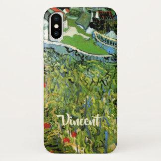Van Gogh Vineyards with Auvers, Vintage Fine Art iPhone X Case