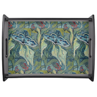 Van Gogh Vintage Great Peacock Moth Serving Tray