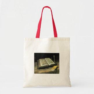 Van Gogh Vintage Old Painting Art Artist Budget Tote Bag