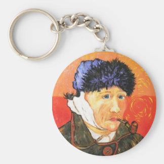 Van Gogh w/Bandaged Ear Keychain
