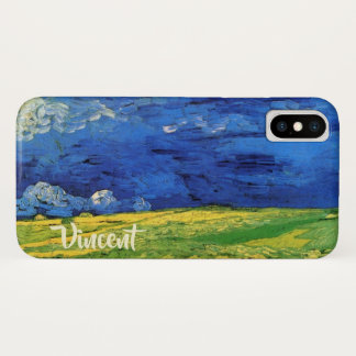 Van Gogh Wheat Field Under a Clouded Sky Case-Mate iPhone Case
