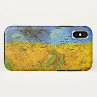Van Gogh Wheat Field with Crows, Vintage Fine Art Case-Mate iPhone Case