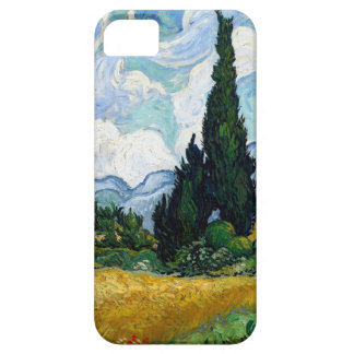 Van Gogh Wheat Field with Cypresses iPhone 5 Case