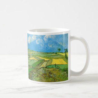 Van Gogh Wheat Fields at Auvers Under Clouded Sky Coffee Mug