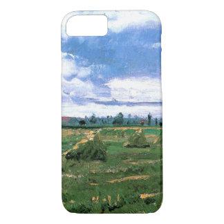 Van Gogh Wheat Fields with Haystacks, Fine Art iPhone 7 Case