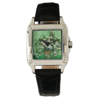 Van Gogh - White Roses Watch