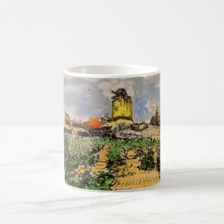 Van Gogh Windmill of Alphonse Daudet, Fontevielle Coffee Mug