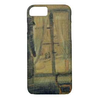 Van Gogh Window in Bataille Restaurant, Fine Art iPhone 7 Case