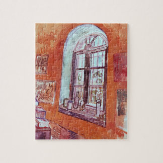 Van Gogh Window of Vincent's Studio at the Asylum Jigsaw Puzzle