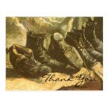 Van Gogh's 3 Pairs of Shoes Postcard