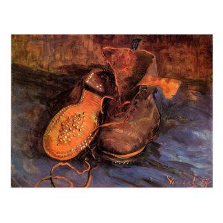 Van Gogh's 'A Pair of Shoes' Postcard