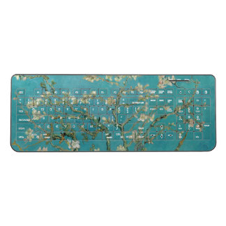 Van gogh's Almond Blossom Wireless Keyboard
