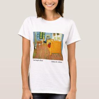 Van Gogh's Bedroom (Artists Cats Added) T-Shirt