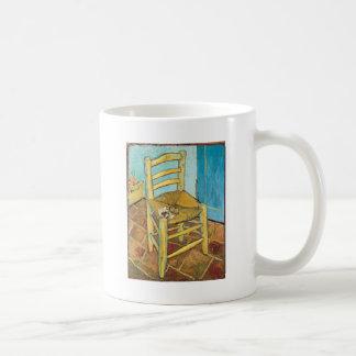 Van Gogh's Chair by Vincent van Gogh Coffee Mugs