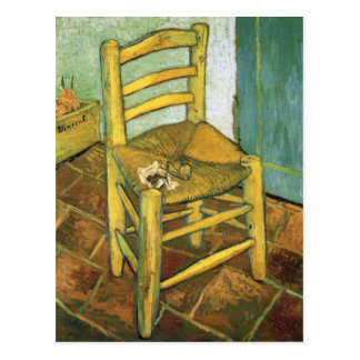 Van Gogh's Chair by Vincent van Gogh Postcard