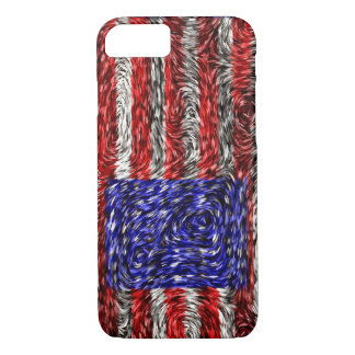 Van Gogh's Flag of the United States iPhone 7 Case