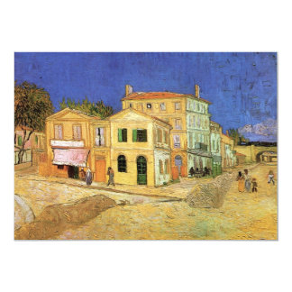 Van Gogh's House in Arles, Housewarming Party Card