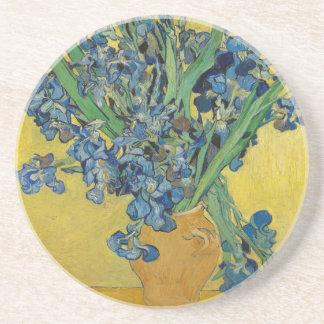 Van Gogh's Iris Beverage Coasters