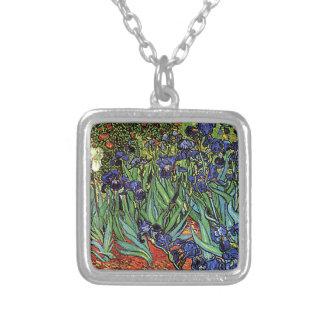 Van Gogh's 'Irises' Necklace
