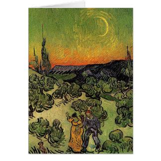 Van Gogh's 'Landscape w/ Couple Walking' card