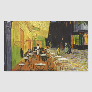 Van Gogh's Night Cafe Sticker