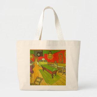 Van Gogh's 'Night Cafe' Tote Bag Jumbo Tote Bag