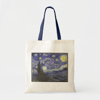 Van Gogh's Starry Night Classic Painting Tote Bag