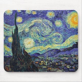 Van Gogh's Starry Night Mouse Pad