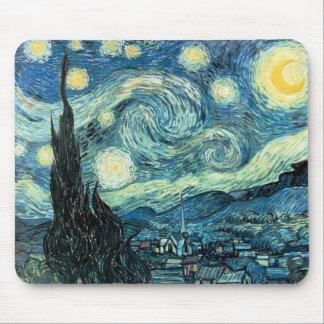 "Van Gogh's ""Starry Night"" Mousepad"